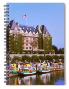 Buildings At The Waterfront, Empress Spiral Notebook