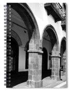 Buildings In Ponta Delgada Spiral Notebook