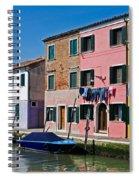 Burano, Venice Spiral Notebook