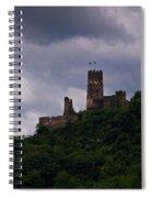 Burgruine Furstenberg Rheindiebach Spiral Notebook
