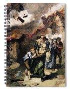 Burning Of Norfolk, 1776 Spiral Notebook