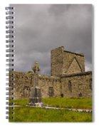 Burrishoole Friary, Ireland Spiral Notebook
