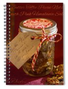 Butter Toffee Pecan Nuts With Himalania Salt Spiral Notebook