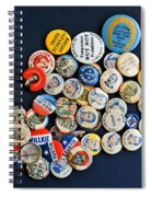 Buttons Spiral Notebook