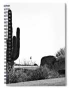 Cactus Golf Spiral Notebook