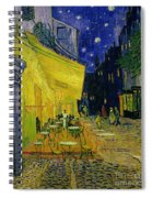 Cafe Terrace Arles Spiral Notebook