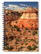 Calf Creek Canyon Red Rocks Spiral Notebook