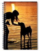 Call And Answer Spiral Notebook