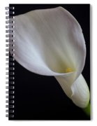 Calla Lily Spiral Notebook