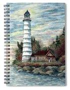 Cana Island Light Spiral Notebook