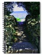 Cana Island Walkway Wi Spiral Notebook