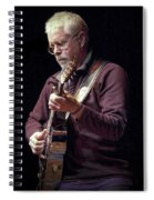 Canadian Folk Rocker Bruce Cockburn Spiral Notebook