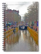 Canal Of Delft Spiral Notebook