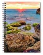 Cancun Sunrise Spiral Notebook