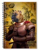 Cane Corso Art Canvas Print Spiral Notebook