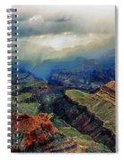 Canyon Clouds Spiral Notebook