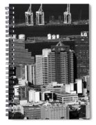 Cape Town Skyline - South Africa Spiral Notebook