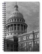 Capitol At Dawn Spiral Notebook