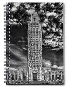 Capitol Building Of Louisiana Spiral Notebook