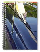 Car Reflection Spiral Notebook
