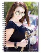 Car Service Spiral Notebook