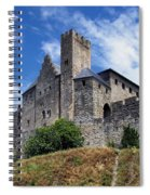 Carcassonne By Day Spiral Notebook