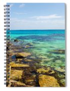 Caribbean Sea View Spiral Notebook