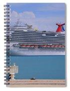 Carnival Dream Spiral Notebook