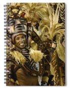 Carnival Rio De Janeiro 30 Spiral Notebook