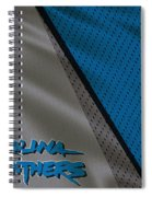Carolina Panthers Uniform Spiral Notebook