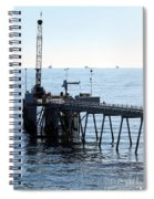 Carpinteria Pier Spiral Notebook
