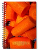 Carrots Ready To Cook Spiral Notebook
