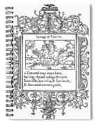 Cartouche, 1543 Spiral Notebook