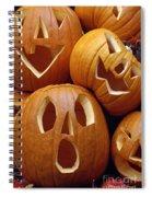 Carved Pumpkins Spiral Notebook