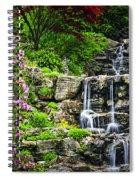 Cascading Waterfall Spiral Notebook