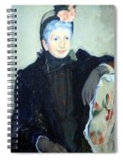 Cassatt's Portrait Of An Elderly Lady Spiral Notebook