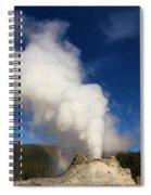 Castle Rainbow Spiral Notebook