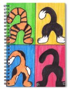 Cat Tails - Primary Spiral Notebook