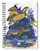 Cayman Turtles Spiral Notebook