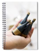 Celebration Champaign Bubbles Spiral Notebook