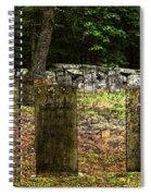 Cemetery Spiral Notebook