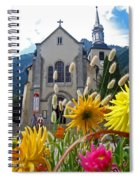 Chamonix Church Spiral Notebook