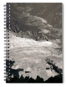 Chamonix From Above Spiral Notebook