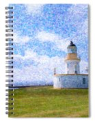 Chanonry Point Lighthouse Spiral Notebook