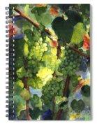 Chardonnay Au Soliel Spiral Notebook