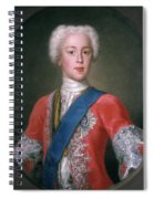 Charles Edward Stuart (1720-1788) Spiral Notebook