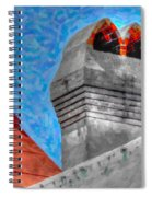 Charleston Rooftop Spiral Notebook