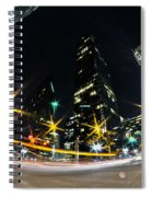Charlotte Nc Usa - Nightlife Around Charlotte Spiral Notebook