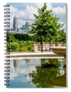 Charlotte North Carolina View From Greenway Spiral Notebook