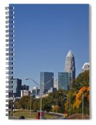 Charlotte Skyline Spiral Notebook